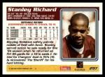 1995 Topps #297  Stanley Richard  Back Thumbnail