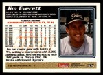 1995 Topps #315  Jim Everett  Back Thumbnail