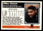 1995 Topps #393  Mike Flores  Back Thumbnail