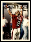 1995 Topps #421  Steve Young  Front Thumbnail
