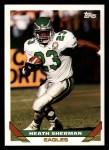 1993 Topps #20  Heath Sherman  Front Thumbnail