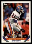 1993 Topps #137  Steve Atwater  Front Thumbnail