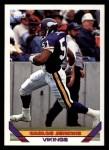 1993 Topps #186  Carlos Jenkins  Front Thumbnail