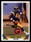 1993 Topps #188  Todd Lyght  Front Thumbnail