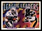 1993 Topps #219  Emmitt Smith / Barry Foster  Front Thumbnail