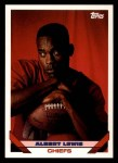 1993 Topps #224  Albert Lewis  Front Thumbnail
