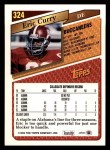 1993 Topps #324  Eric Curry  Back Thumbnail