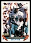1993 Topps #364  Vestee Jackson  Front Thumbnail