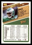 1993 Topps #460  Herschel Walker  Back Thumbnail