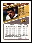 1993 Topps #520  Rod Woodson  Back Thumbnail