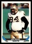 1993 Topps #533  Jim Wilks  Front Thumbnail