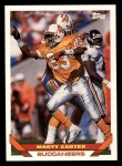 1993 Topps #606  Marty Carter  Front Thumbnail