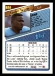 1993 Topps #656  Andre Ware  Back Thumbnail