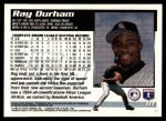 1995 Topps Traded #11 T Ray Durham  Back Thumbnail