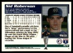 1995 Topps Traded #97 T Sid Roberson  Back Thumbnail