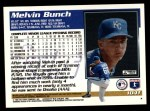 1995 Topps Traded #104 T Melvin Bunch  Back Thumbnail