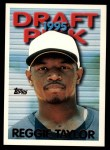 1995 Topps Traded #108 T Reggie Taylor  Front Thumbnail