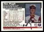 1995 Topps Traded #120 T Tim Pugh  Back Thumbnail