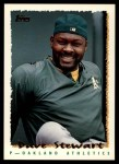 1995 Topps Traded #154 T Dave Stewart  Front Thumbnail