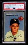 1954 Wilson Franks  Nellie Fox  Front Thumbnail