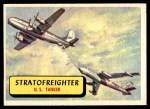 1957 Topps Planes #52 BLU  Stratofreighter Front Thumbnail