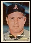 1957 Topps #187  Virgil Trucks  Front Thumbnail