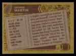 1986 Topps #150  George Martin  Back Thumbnail
