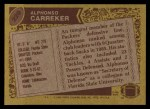 1986 Topps #220  Alphonso Carreker  Back Thumbnail