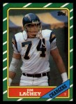 1986 Topps #238  Jim Lachey  Front Thumbnail