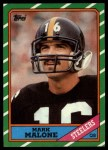 1986 Topps #281  Mark Malone  Front Thumbnail