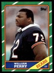 1986 Topps #20  William Perry  Front Thumbnail