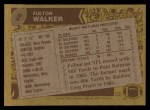 1986 Topps #66  Fulton Walker  Back Thumbnail