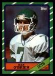 1986 Topps #95  Ken O'Brien  Front Thumbnail