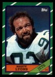 1986 Topps #107  Marty Lyons  Front Thumbnail