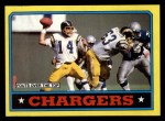 1986 Topps #230   -  Lionel James / Danny Walters / Lee Williams / Billy Ray Smith Chargers Leaders Front Thumbnail