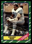 1986 Topps #251  William Gay  Front Thumbnail