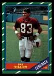 1986 Topps #331  Pat Tilley  Front Thumbnail