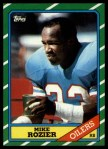 1986 Topps #351  Mike Rozier  Front Thumbnail