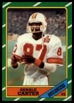1986 Topps #377  Gerald Carter  Front Thumbnail
