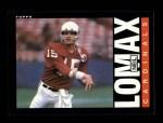 1985 Topps #143  Neil Lomax  Front Thumbnail