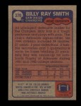 1985 Topps #378  Billy Ray Smith  Back Thumbnail
