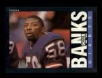 1985 Topps #111  Carl Banks  Front Thumbnail