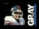 1985 Topps #115  Earnest Gray  Front Thumbnail