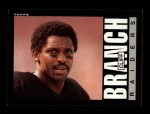 1985 Topps #286  Cliff Branch  Front Thumbnail