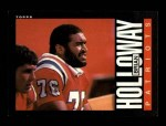 1985 Topps #327  Brian Holloway  Front Thumbnail