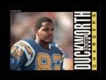 1985 Topps #371  Bobby Duckworth  Front Thumbnail