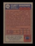 1985 Topps #392  Curt Warner  Back Thumbnail