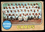 1968 Topps #497   Cardinals Team Front Thumbnail