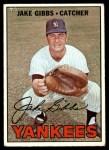 1967 Topps #375  Jake Gibbs  Front Thumbnail