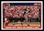2005 Topps #335   -  Ken Griffey Jr. Season Highlights Front Thumbnail
